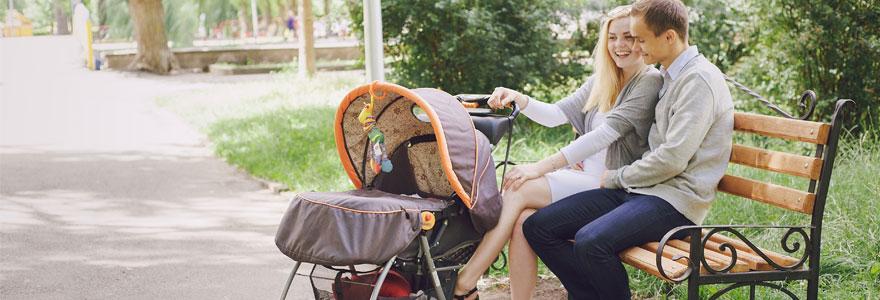 poussette de votre bébé