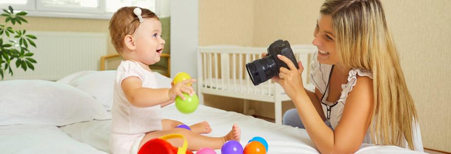 photographe pour prendre des photos de bébé