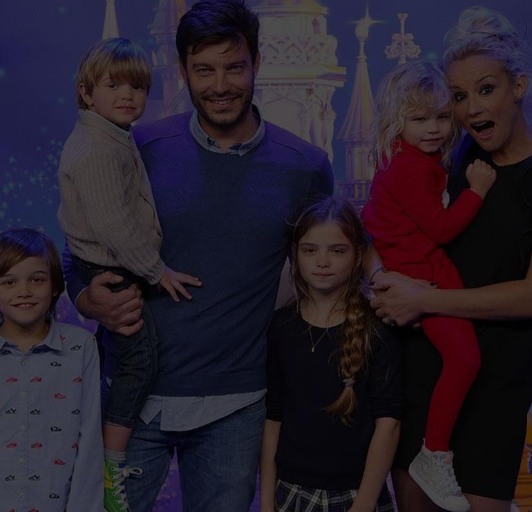 La vie de famille des stars